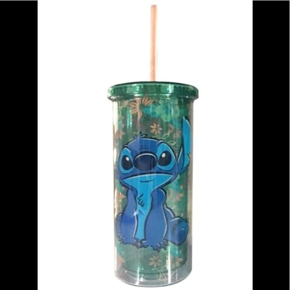 Tropical Stitch 20oz Plastic Tall Cold Cup
